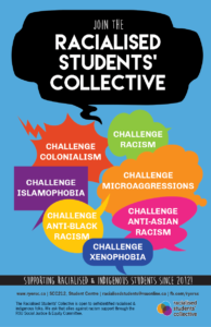 Racialised and Indigenous Students' Collective @ Ryerson Student Centre